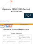 Dynamic CRM 2013 Installation