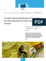 A Multi-criteria Optimisation of Scenarios for the Protection of Water Resources in Europe