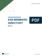 ESN Members List