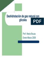 deshidratacion de  gas Natural Con Etilenglicol