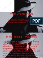 web drama pitch