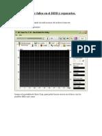 Buscar Fallos en El HDD y Repararlos