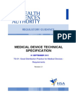 GDP for Medical Devices
