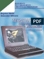 Knjiga - Tehnologija Obrade Metala Rezanjem Izbor Rezima Obrade