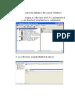 Solucion a Problemas en Disco Duro Con Windows