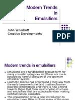 Trends in Emulsifiers