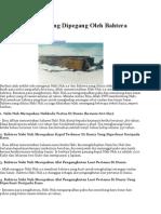 13 Rekod Dunia Yang Dipegang Oleh Bahtera Nabi Nuh A