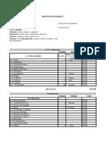 Presupuesto Modelo