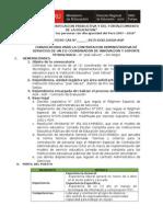 Conv. Coord. de Innovacion y Soporte Tecnologico Jose Galvez