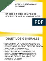 Equipo de Acceso de Voz Msan Huawei
