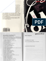 JASPERS, KARL - El Problema de La Culpa (Sobre La Responsabilidad Política de Alemania) [Por Ganz1912]
