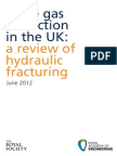 Shale Gas Extraction in the UK June 2012