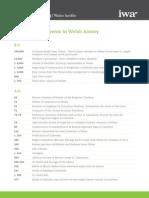 Key in Welsh History