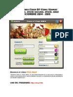 Hack Para Clash of Clans 2015 Gemas Infinitas-libre