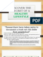 Discover the Secret of a Healthy Lifestyle