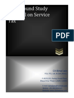Bimal Jain BGM Service Tax 051014