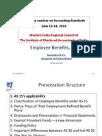 Employee Benefits as 15