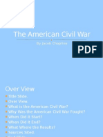 The American Civil War Power Point