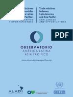 las relaciones comerciales entre Asia pacifico y America Latina