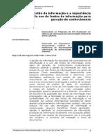 Gestão Da Informação - Charles Rodrigues