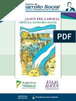 Formacion Pre Laboral - Módulo Economía Social