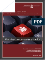 Man in the browser attacks