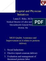 Clinical, Hospital and Physician Initiatives