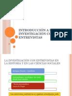Diapositivas de Entrevista Cualitativa