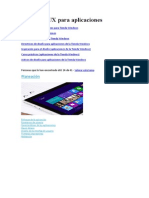 Diseño de UX Para Aplicaciones