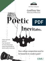 Poetic Inevitability - Geoffrey Sirc