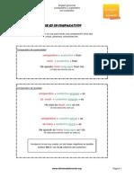Comparativos y Superlativos Con Sustantivos