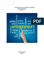 Entrpreneurship VC Assignment