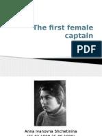 Woman Captain