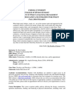 PAM 5340 Syllabus Infrastrucutre Policy Fall 2014