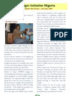 Paradigm Initiative Nigeria - Programs' Update (Q4, 2009)