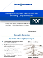 Concept to Completion Best Practice in Delivering Complex Projects