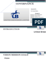 Information Technology Governance - United Breweries