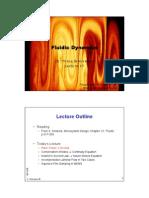 Oscillating Couette Flow  Fluid Dynamics Handouts