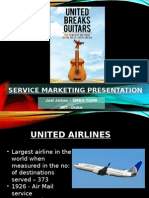 Service Marketing Presentation - Untied Breaks Guitars