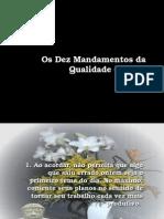 10 mandamentos qualidade