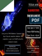 Tournament Poster 2
