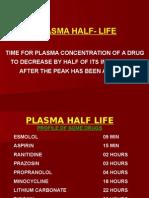 Plasma Half Life
