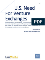 Venture Exchanges - Weild & Kim - 3-4-2015