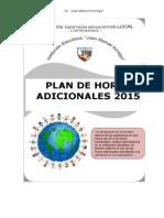 Plan de Horas Adicionales - César Chapoñán Damián