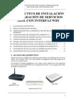 Instructivo Instalacion Servicios Adsl Wifi
