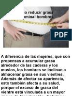 Bajar grasa abdominal hombres