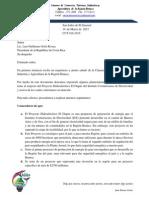 018-Carta Proyecto Diquis