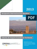 Informe de Impacto Económico–Territorial basado en la actividad aeroportuaria y aerocomercial