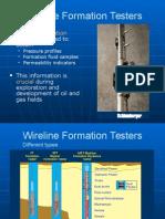 wireline formation tester