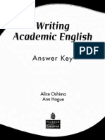 Writing Academic English 4th Ed_ Answer Key